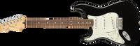 Fender Player Stratocaster Left-Handed Pau Ferro Fingerboard, Black