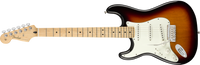 Fender Player Stratocaster Left-Handed Maple Fingerboard, 3-Color Sunburst