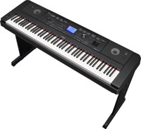 Yamaha DGX-660 88-key Arranger Piano with Stand Black