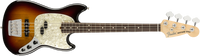 Fender American Performer Mustang Bass, Rosewood Fingerboard, 3-Color Sunburst