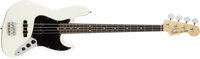 Fender American Performer Jazz Bass, Rosewood Fingerboard, Arctic White