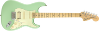 Fender American Performer Stratocaster HSS, Maple Fingerboard, Satin Surf Green