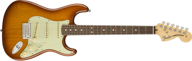 Fender American Performer Stratocaster, Rosewood Fingerboard, Honey Burst