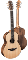 Sheeran By Lowden W01 - Solid Cedar Top, Walnut back and sides,