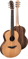 Sheeran By Lowden S01 - Solid Cedar Top, Walnut back and sides