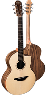 Sheeran By Lowden S04 - Solid Sitka Spruce Top, Figured Walnut back and sides, Body Bevel, LR Bags Element pickup