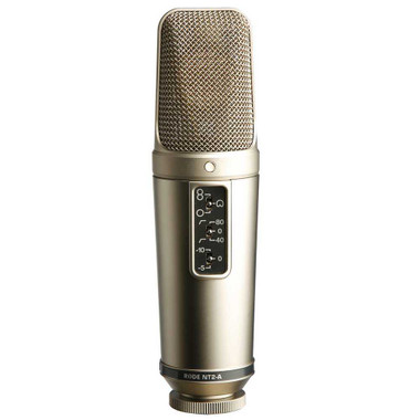 """Shop online now for Rode NT2-A Multi Pattern Dual 1"""" Condenser Microphone . Best Prices on RODE in Australia. Guitar World. Electric Guitars"""
