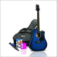 Ashton D25CEQ Acoustic Guitar (w/ Pickup) Starter Pack - Guitar World AUSTRALIA