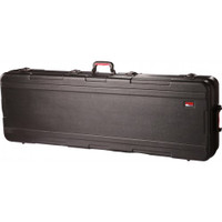 Gator ATA Molded 76-Note Extra Deep Keyboard Case w/ TSA Latches & Wheels