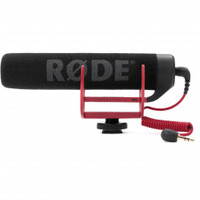 RODE VideoMic GO Lightweight On-Camera Microphone (1-RODVMGO)
