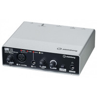 Steinberg UR12 USB/iOS Audio Interface, 1x D-PRE, 1x HiZ w/ 192 kHz (UR-12)