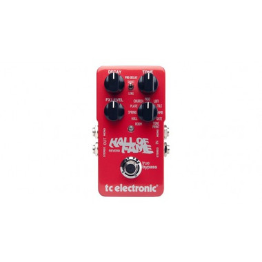 shop online for tc electronic hall of fame reverb pedal in australia effects musical instruments. Black Bedroom Furniture Sets. Home Design Ideas