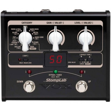 shop online for vox stomplab gi guitar multi effects pedal in australia effects musical instruments. Black Bedroom Furniture Sets. Home Design Ideas