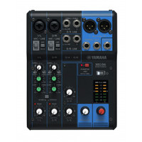 Yamaha MG06X Mixer w/ Digital FX