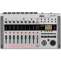 Zoom R24 24 track digital recorder/USB interface/controller