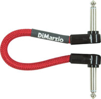 """Shop online now for DiMarzio EP706R 6"""" Premium Patch Cable - Red. Best Prices on DiMarzio in Australia at Guitar World."""