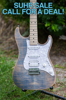 SUHR STANDARD PRO HSS TRANS BLUE DENIM SLATE ELECTRIC GUITAR