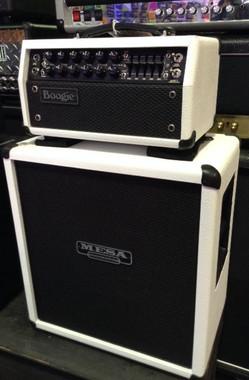 MESA /BOOGIE MARK FIVE:25- 10/25 WATT TUBE HEAD & 112 BOX WHITE BRONCO Guitar World AUSTRALIA