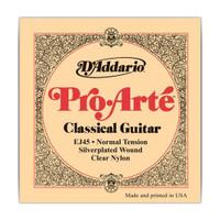 D'Addario, EJ45, Pro, Arte, Classical, Guitar, Strings