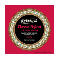 D'Addario, EJ27N, 28-43, Student, Nylon, Classical, Guitar, Strings