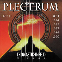 Thomastik, Plectrum, Bronze, 11-50, Light, Acoustic, Guitar, Strings