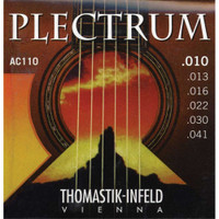 Thomastik, Plectrum, Bronze, 10-41, Extra, Light, Acoustic, Guitar, Strings