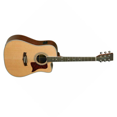 Tanglewood TW15CE-B Sundance Cutaway Dreadnought Acoustic/Electric Guitar