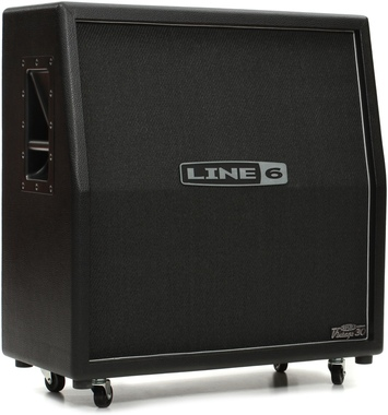 "Line 6 412VS - 120W 4x12"" Slant Cabinet"