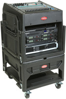 SKB 12U over 8U Gig Rig Rack