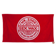 Mr. Zogs Sexwax - Red Logo Beach Towel