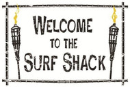 Seaweed Surf Welcome To The Surf Shack Surf Sign