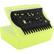 Sticky Bumps Wax Box & Comb (Yellow)