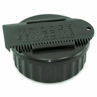 Sex Wax, Container & Wax Comb, All Black