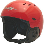 Gath Gedi Helmet with Peak - Red - M