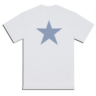 Sex Wax Men's Short Sleeve Plain Star Tee White