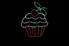 Cupcake outdoor decoration