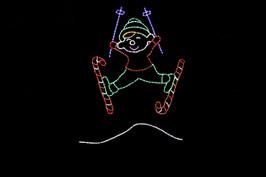 Elf Ski Jumping - Animated
