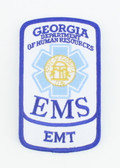 Georgia EMS Patch - EMT Rocker