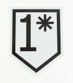 1* Sticker