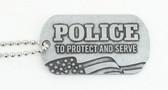 Police Dog Tag