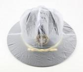 Campaign Hat Rain Cover - Translucent Clear