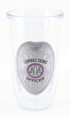 Signature Tumbler - Corrections Officer Badge