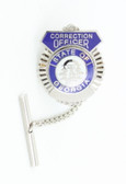 Correction Officer Shield Tie Tack