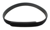 Leather Basketweave Inner Duty Belt with Loop - 1.5""