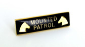Mounted Patrol Commendation Bar