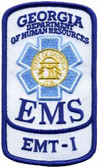Georgia EMS Patch - EMT-I Rocker