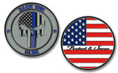 Back The Blue Challenge Coin