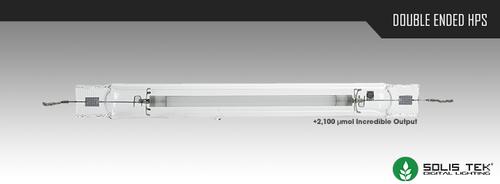 SolisTek Double Ended High Pressure Sodium (HPS) Digital Lamps
