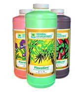 Flora Series QT - FloraGro, FloraBloom, and FloraMicro, 32 oz each