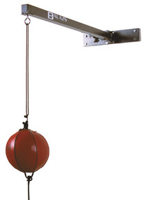 Balazs Boxing Retractable Double End Speed Bag Wall Mount